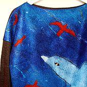 """Одежда ручной работы. Ярмарка Мастеров - ручная работа Джемпер """"На крыло!"""". Handmade."""