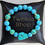 Украшения handmade. Livemaster - original item Turquoise bracelets. Handmade.