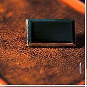 Кнопки ручной работы. Ярмарка Мастеров - ручная работа Кнопка прямоугольная в цветах никель и черный никель. Handmade.