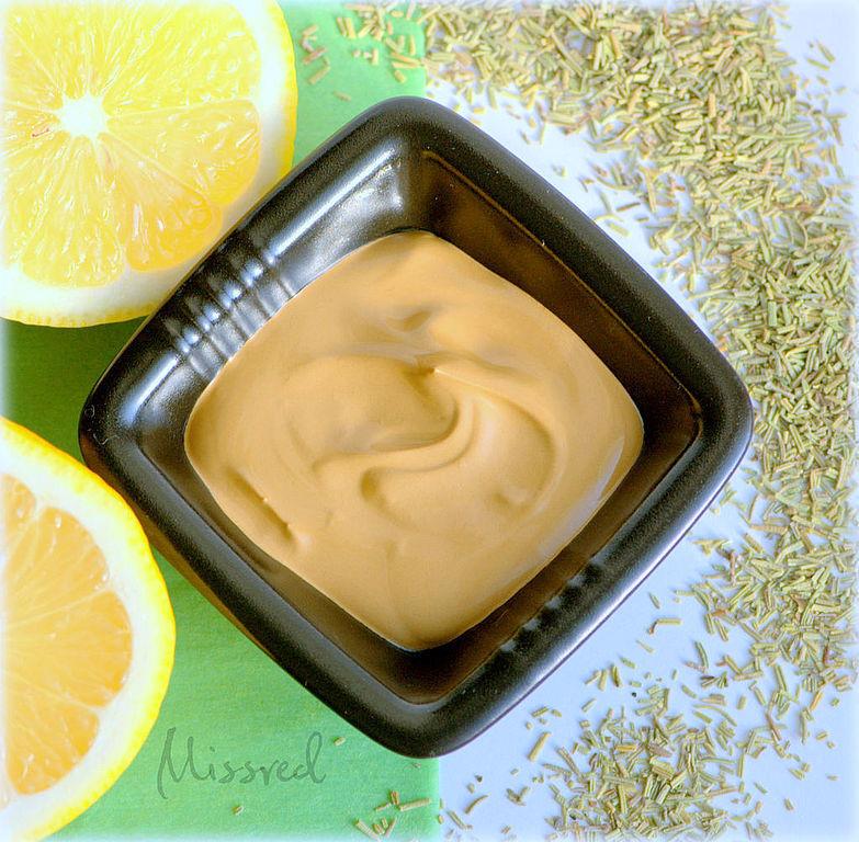 """Маски для лица ручной работы. Ярмарка Мастеров - ручная работа. Купить Маска для жирной, комбинированной кожи """"Lemon & Rosemary"""". Handmade."""