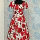 """Платья ручной работы. Ярмарка Мастеров - ручная работа. Купить Платье в стиле ретро """"ДЕФИЛЕ"""". Handmade. Ретро, женское платье"""