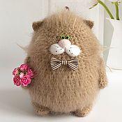 Куклы и игрушки handmade. Livemaster - original item Mohair cat.. Handmade.