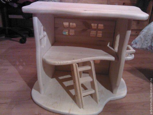Кукольный дом ручной работы. Ярмарка Мастеров - ручная работа. Купить Кукольный домик (малый). Handmade. Кукольный дом, куклы