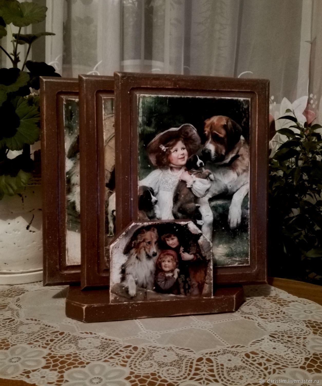 """Набор разделочных досок """" Год собаки """", Доски, Липецк, Фото №1"""
