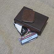 Сумки и аксессуары handmade. Livemaster - original item Cigarette case. sigaretta. Slims RedLine.  Slims. Thin cigarettes. Handmade.