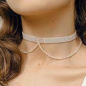Украшения handmade. Livemaster - original item Choker from Selena beads. Handmade.
