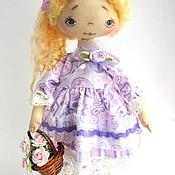 Куклы и игрушки ручной работы. Ярмарка Мастеров - ручная работа Текстильная кукла - Раечка. Handmade.