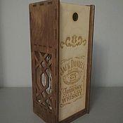 Упаковка ручной работы. Ярмарка Мастеров - ручная работа Упаковка: под вино или другие напитки. Handmade.