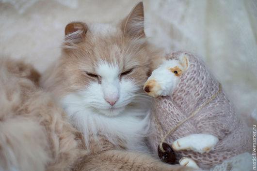 Мишки Тедди ручной работы. Ярмарка Мастеров - ручная работа. Купить дружба - это когда тепло. Handmade. Бежевый, вискоза
