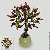 Цветы и флористика handmade. Livemaster - original item Wish tree of pomegranate in a vase of onyx. Handmade.