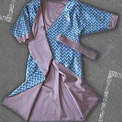 Одежда ручной работы. Ярмарка Мастеров - ручная работа Вечернее платье-халат. Handmade.