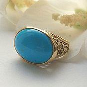 Украшения handmade. Livemaster - original item Ring with turquoise