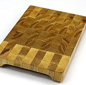 Для дома и интерьера handmade. Livemaster - original item End cutting Board №108. Handmade.
