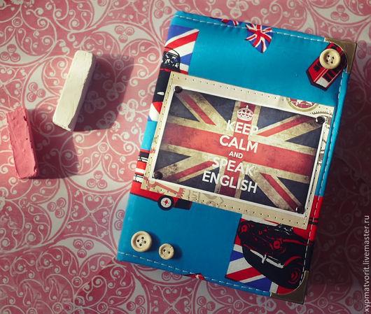 Блокноты ручной работы. Ярмарка Мастеров - ручная работа. Купить Блокнот Британия. Handmade. Синий, красный, белый, черный