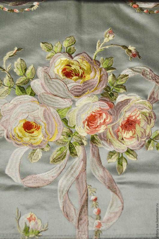 Премиальная французская ткань. Роскошные европейские ткани для штор.