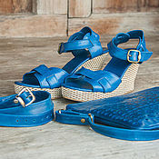 Обувь ручной работы handmade. Livemaster - original item Sandals from natrualnym Cody Jess. Handmade.