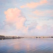 Картины и панно handmade. Livemaster - original item Photo picture of the city panorama of St. Petersburg