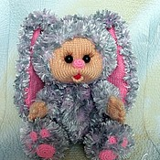Куклы и игрушки ручной работы. Ярмарка Мастеров - ручная работа зайка Лялечка. Handmade.