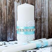 Свадебный салон ручной работы. Ярмарка Мастеров - ручная работа Свадебные Свечи набор. Handmade.