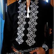 Одежда ручной работы. Ярмарка Мастеров - ручная работа Рубаха-вышиванка мужская.. Handmade.