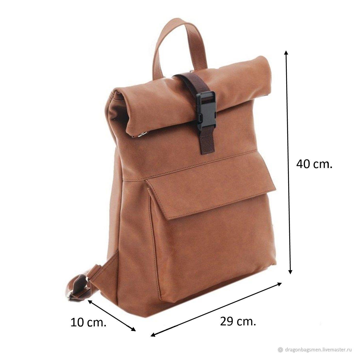 58a587cfb70a Заказать Мужской рюкзак 'Franco'. DragonBags Мужские кожаные сумки ...