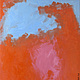 Абстракция ручной работы. Ярмарка Мастеров - ручная работа. Купить Абстрактная живопись. Breathe.. Handmade. Оранжевый, абстракция, уникальная работа
