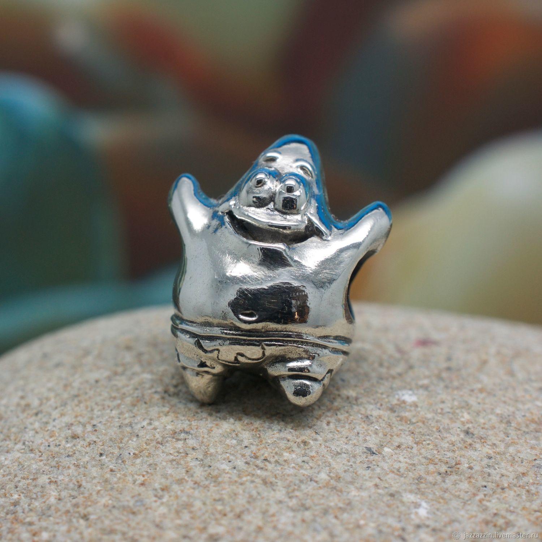 All for Jewelry Making handmade. Livemaster - handmade. Buy Patrick bead.Charm, animation