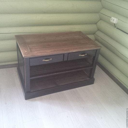 Мебель ручной работы. Ярмарка Мастеров - ручная работа. Купить Тумба под тв. Handmade. Комбинированный, тумба под ТВ
