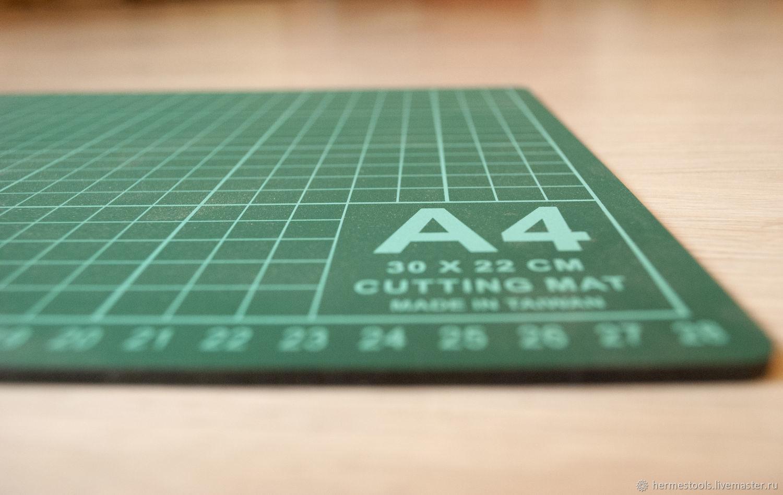 Мат для резки (раскроя) А4. Раскройный коврик, Инструменты для шитья, Санкт-Петербург,  Фото №1
