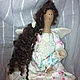 Куклы Тильды ручной работы. Ангел материнства. Евгения (janemsk). Ярмарка Мастеров. Нежность, шерсть 100%