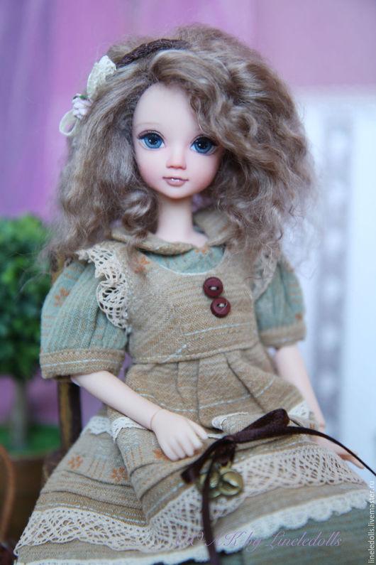 """Коллекционные куклы ручной работы. Ярмарка Мастеров - ручная работа. Купить """"Мэри"""" ООАК куклы Kurhn. Handmade. Комбинированный, подарок"""