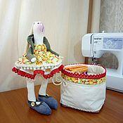 Куклы и игрушки ручной работы. Ярмарка Мастеров - ручная работа Тильда Марфуша. Handmade.