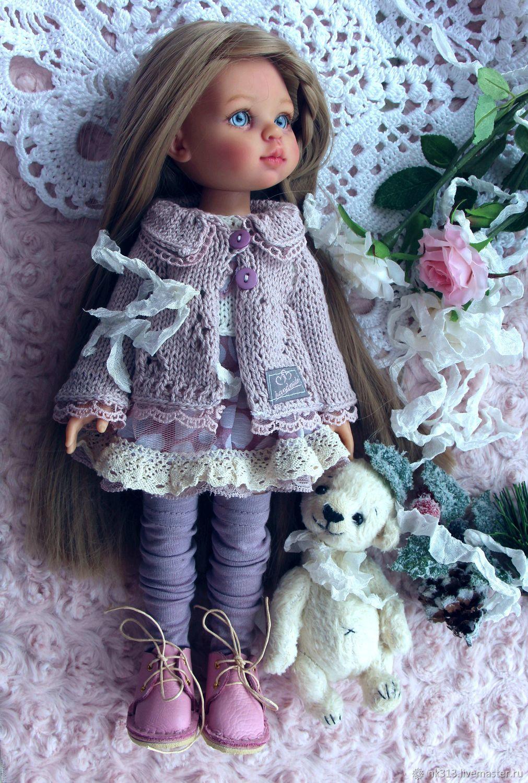 Сиреневый туман, Одежда для кукол, Верхний Уфалей,  Фото №1