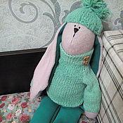 Куклы и игрушки ручной работы. Ярмарка Мастеров - ручная работа Большой заяц. В наличии.Цена снижена. Handmade.