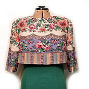 Одежда ручной работы. Ярмарка Мастеров - ручная работа Жакет Весна (из ППП). Handmade.