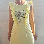 Одежда handmade. Livemaster - original item Vestido para las mams secretas con cremalleras. Ropa para bebes. Handmade.