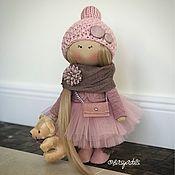 Куклы и игрушки ручной работы. Ярмарка Мастеров - ручная работа Кремовая розочка. Handmade.