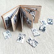 Старинный альбом с фотографиями 1:12