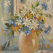 Картины и панно ручной работы. Ярмарка Мастеров - ручная работа цветочный мотив. Handmade.