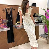 Одежда handmade. Livemaster - original item Dress made of cotton. Handmade.