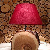 Для дома и интерьера ручной работы. Ярмарка Мастеров - ручная работа светильник из дуба. Handmade.