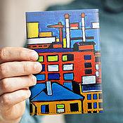 Канцелярские товары handmade. Livemaster - original item Cover passport