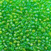 Материалы для творчества handmade. Livemaster - original item 10 grams of 10/0 seed Beads, Czech Preciosa 51430 Premium green radue.. Handmade.