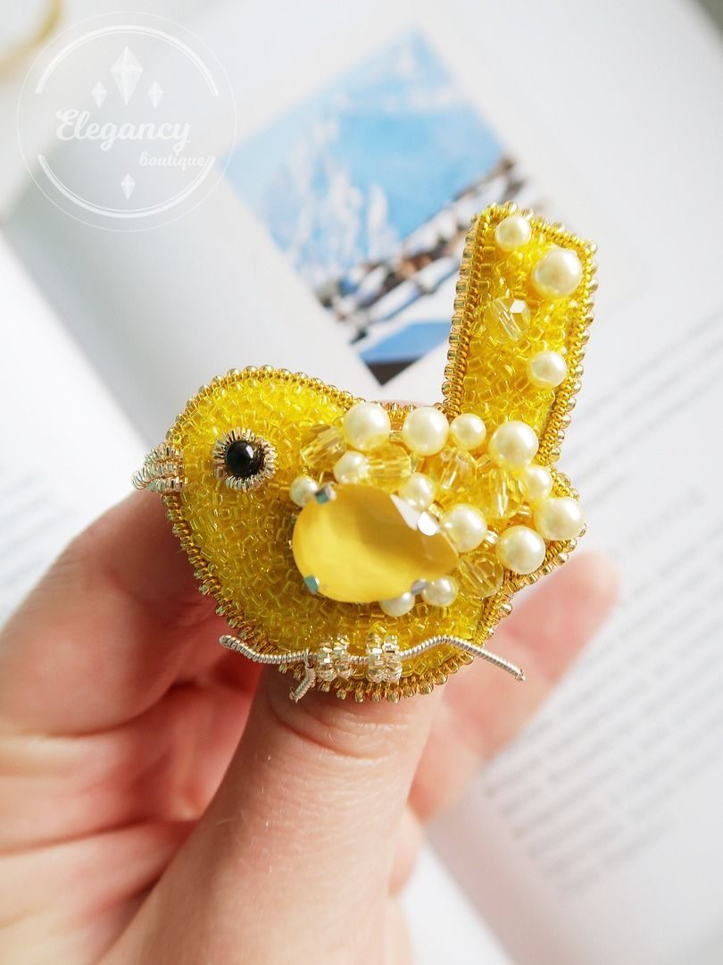 Brooch bird ' Ray of the sun', Brooches, St. Petersburg,  Фото №1