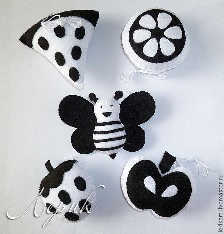 чёрно-белые картинки игрушки