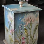 Подарки к праздникам handmade. Livemaster - original item Box ,,Revival,,. Handmade.