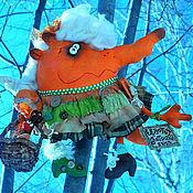 Куклы и игрушки ручной работы. Ярмарка Мастеров - ручная работа Евдотья Потрикеевна. Handmade.