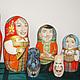 Персональные подарки ручной работы. Матрешка семейная с домашними любимцами. Арефьева Раиса. Ярмарка Мастеров. Vip-матрешка