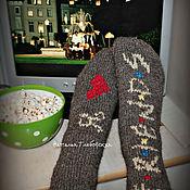 Аксессуары handmade. Livemaster - original item Socks fan of the series
