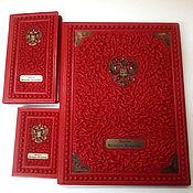 Подарки к праздникам handmade. Livemaster - original item Gift sets and handmade gifts made of genuine leather. Handmade.